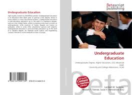 search results for british undergraduate degree classification bookcover of undergraduate education