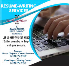 Career And Resume Writing Services Available Alabama A M