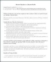 Career Profile Resume Examples Skinalluremedspa Com