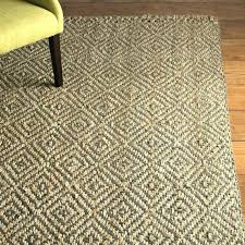grey woven rug flat cotton gray area hand