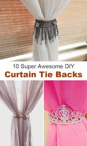 white and pink round modern fabric curtain tie back ideas with wood and alumunium design