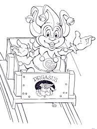 Kids N Fun Kleurplaat Efteling Pardoes In Pegasus
