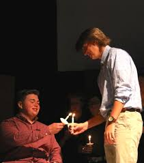 PHOTOS: Foundation Academy Senior Chapel and walkout 2019 - Adam Macchi,  right, passed the torch to Bailey Trinder. | West Orange Times & Windermere  Observer