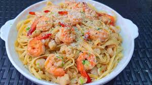 Seafood Pasta in White Wine Sauce ...