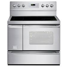 Professional Electric Ranges For The Home Shop Frigidaire Professional 40 In Smooth Surface 6 Element 37 Cu