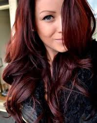 this is the color i was going for withmy recent dye job might need to do one more box worth love the color red brown hair color john frieda precision