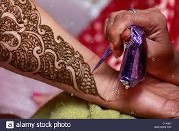 Elaborate Henna Designs Traditional Indian Henna Henna Tattoo Henna Stock Photo