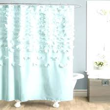 dark purple shower curtain magnetic small images of trend awesome ombre ruffle full size