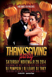 thanksgiving party flyer thanksgiving party flyer template awesomeflyer com