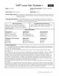 Siop Lesson Plan Template 1 Siop Lesson Plan Template Pearson Barebeppe