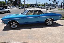 1969 chevrolet chevelle custom convertible interior 108487 1969 chevrolet chevelle custom convertible front 3 4 108487