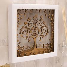 shocking personalised woodenheart family tree wall art by urban twist pict for wood concept and living
