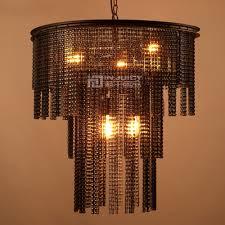 Us 64505 5 Offloft Jahrgang Industrielle Metallkette E27 Edison Farbtöne Antiken Rustikalen Schmiedeeisen Kronleuchter Flur Cafe In Kronleuchter