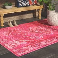 mistana decker pink area rug reviews wayfair within hot rugs decor 5