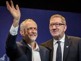Image result for len mccluskey and jeremy corbyn + images