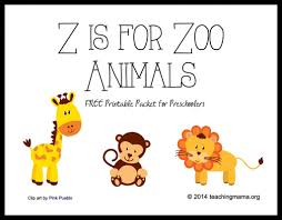 Small Picture Z is for Zoo Animals Letter Z Printables Animal letters Zoos