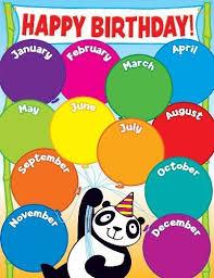Happy Birthday Chart Decoration Pin By Qian Xia On Classroom Decoration Birthday Charts