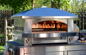 the kalamazoo outdoor gourmet artisan fire pizza oven is like having your own pizzeria in the