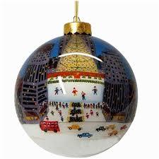 Rockefeller Center Christmas Ornaments from New York City