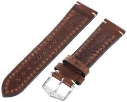camelgrain no allergy l hirsch artisan leather bracelet system ca watches
