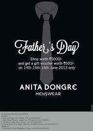 anita dongre menswear father s day special offer worth rs 5000 get a