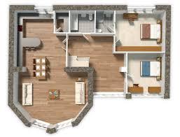 apartment brochure design. Architectural Illustration. Apartment Brochure Design