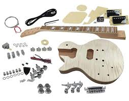 left handed diy guitar kit with flame maple top by solo guitars listed by solo guitars condition brand new 76 views