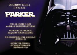 star wars birthday invite template star wars birthday party invitations wording bagvania free