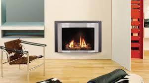 contemporary gas fireplace decor