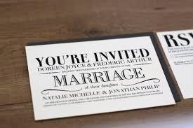 Printable Vintage Modern Wedding Invitation Card Diy 2070846
