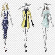 Clothes Design Sketch Model Women Sketch Fashion Illustration Illustration Fashion