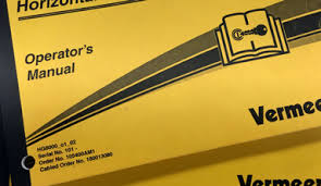 product manuals support vermeer request a product manual