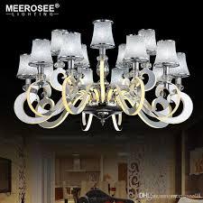 modern led chandelier light stainless steel suspension drop lamp for living dining room led res indoor