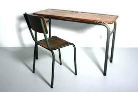 industrial style office desk modern industrial desk. Industrial Office Furniture Vintage Wood Desk Modern Style With U