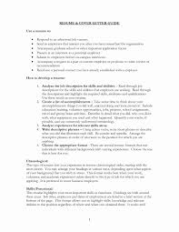 How To Write A Cover Letter For A Resume Cover Letter and Resume Fresh Example Resume Cover Letter for Job 46