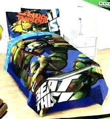 Queen Size Ninja Turtle Bedding Teenage Mutant Bed Set Turtles ...