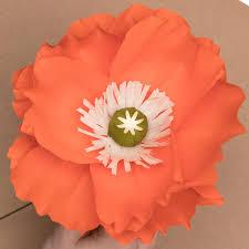 poppy template how to make a paper poppy paper poppy flower