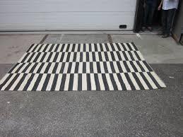 20th century striped kilim rug for