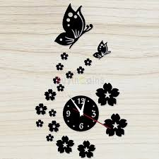 Small Picture 3D Modern Design Frameless Large Wall Clock DIY Home Decor Watches