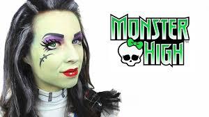 monster high face paint tutorial