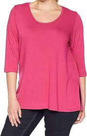 0x Plus Size Chart Karen Kane Plus Womens Plus Size 3 4 Sleeve Side Slit
