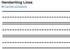 Writing Lines For Kindergarten Writing Line Cliparts Cliparts Zone