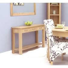 bonsoni mobel oak console table bonsoni mobel oak hideaway