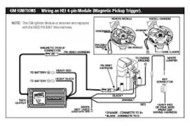 msd 6al wiring diagram for gm hei wiring diagram how to hook up hei distributor at Sbc Ignition Coil Wiring Diagram