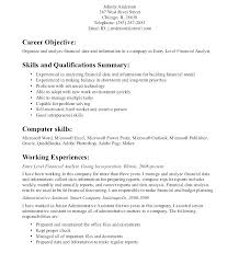 Sample Of Objective In Resume In General Job Objective For Resume