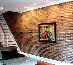 how to seal interior brick wall