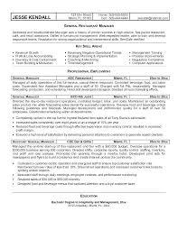 General Manager Resume General Office Clerk Sample Resume Restaurant