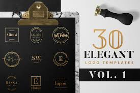 20 Stunning Ready-To-Use Blog Logo Templates ~ Creative Market Blog