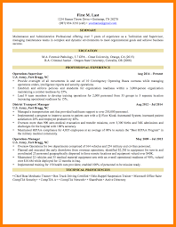 Military Resume Examples Military Cv Examples And Template