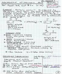 Lab Notebook Format Laboratory Notebook Google Search Organic Chemistry
